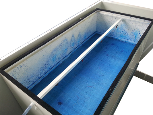 Cabina per la manipolazione di fibre e polveri activa for Filtro per cabina di fusione ford